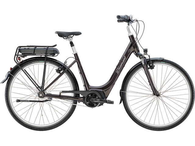 Diamant Achat+ T Elcykel City 500WH Easy Entry svart - till ... 88b61278a48b3